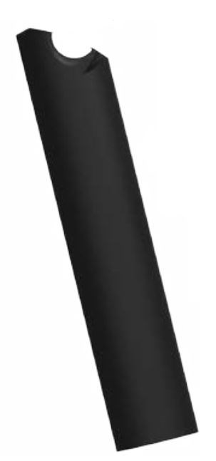 2012 ASP-4 for an E-112 and an E-8 Black Gloss Seatpost