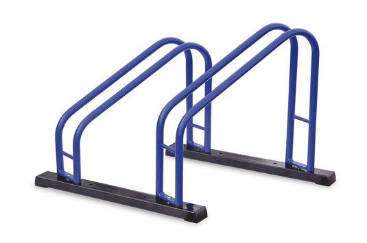 290002 Bike stand DUO Blue/Blk Floor-Mountable