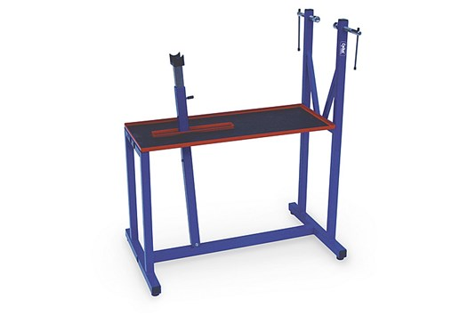 290007 Workshop Stand With Tool Shelf