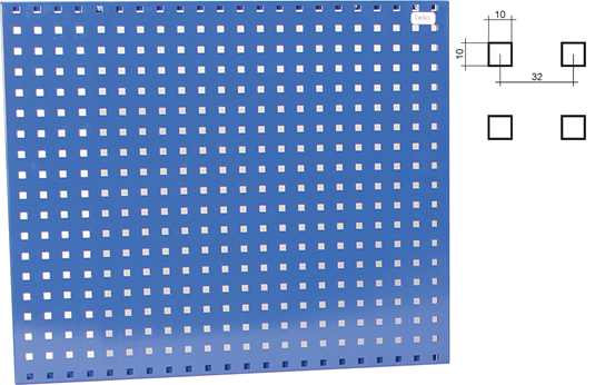 Wall Stand 750mm x 750mm for Work Table 720640