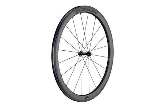 Resolute C45R Carbon Wheelset Black Decal