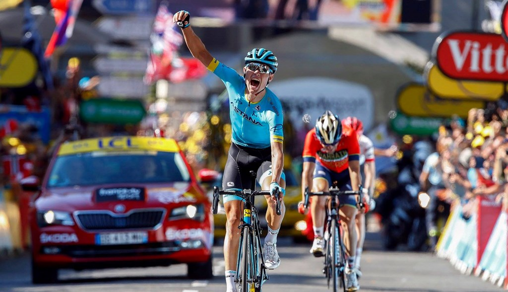 Astana on Top at the Tour de France